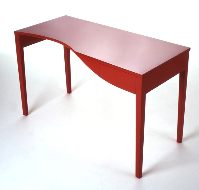 , 'Red Writing Desk,' 2016, Joanna Bird Contemporary Collections