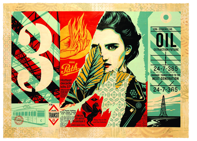 Shepard Fairey, 'Wrong Path', 2018, Gastman