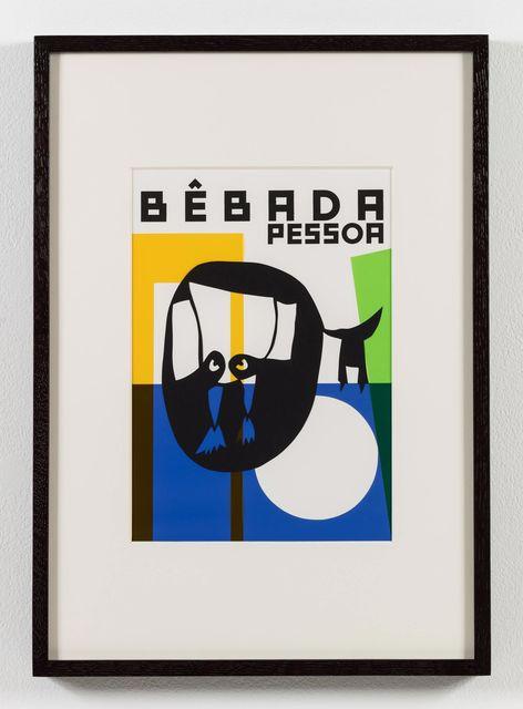 , 'O nome do medo (recorte): Pessoa bêbada / The Name of Fear (cut-out): Drunk Person,' 2017, Stephen Friedman Gallery
