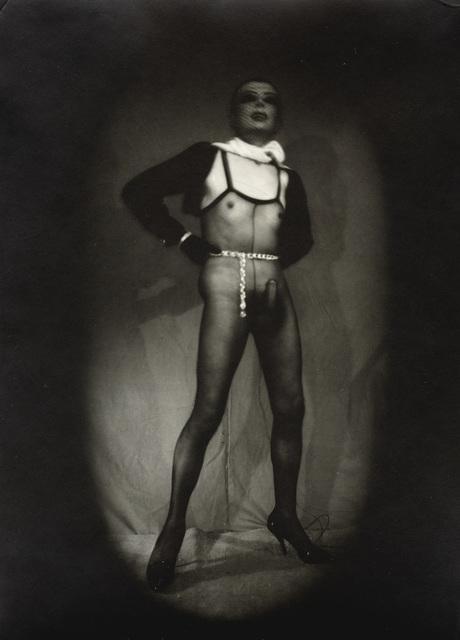 , 'Autoportrait avec masque,' 1975, Galerie Andrea Caratsch