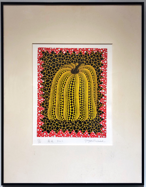 Yayoi Kusama, 'Pumpkin (Screenprint, Collage)', 2000, Lex Art Gallery