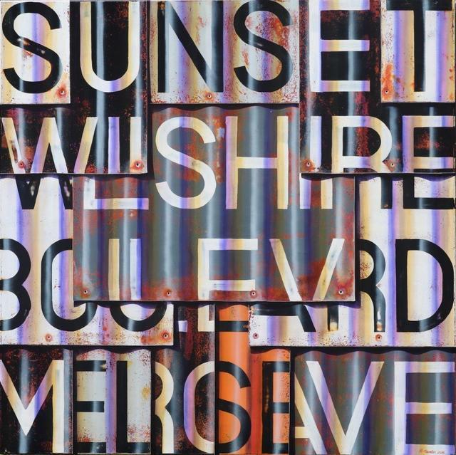 , 'Sunset Blvd B&W,' 2016, Artspace Warehouse