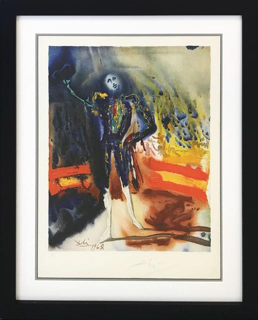 Salvador Dalí, 'A TRIBUTE TO ESCAMILLO', 1970, Print, LITHOGRAPH, Gallery Art