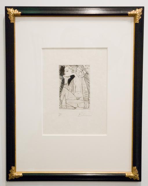 Pablo Picasso, 'Femme assise en tailleur: Geneviève Laporte', 1951, John Szoke