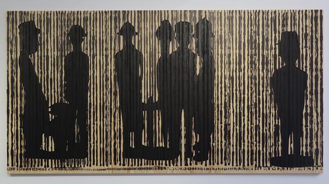 , 'Code noir 5,' 2018, Richard Taittinger Gallery