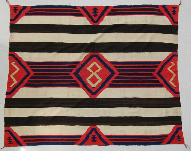, 'Third Phase Chief's Blanket,' ca. 865, Donald Ellis Gallery