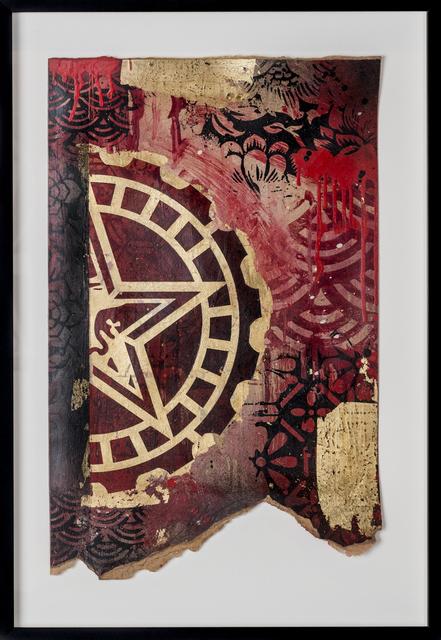 Shepard Fairey (OBEY), 'Half Star Gear', 2017, Print Them All