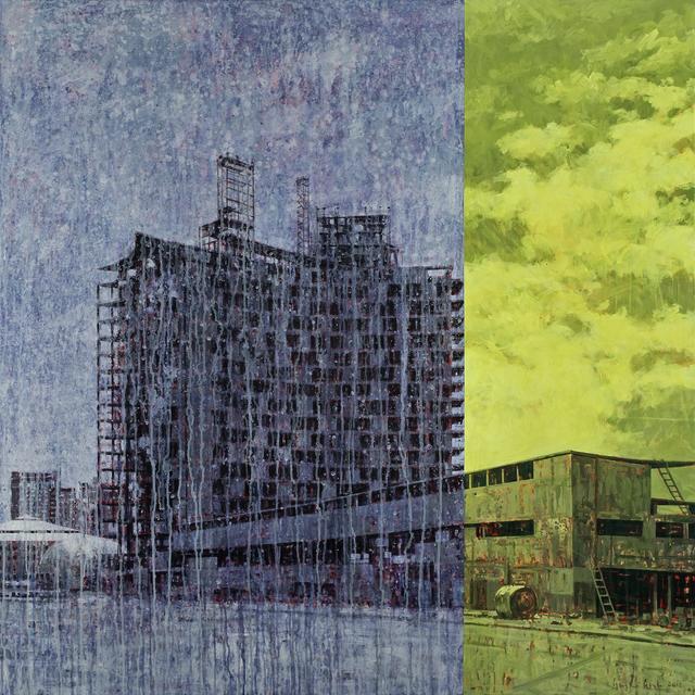 , 'Building Site,' 2017, 532 Gallery Thomas Jaeckel