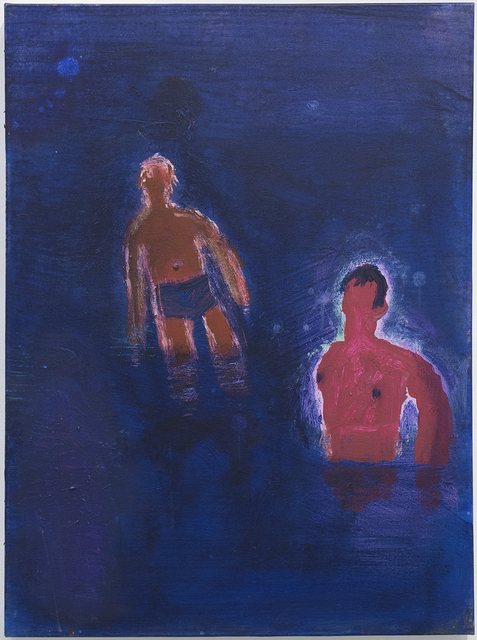 , 'Two Swimmers, Bare Chest,' 2016, Sperone Westwater