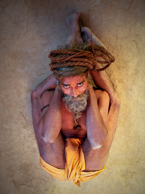 , 'Sleeping Yogi Pose,' 2007, TASCHEN