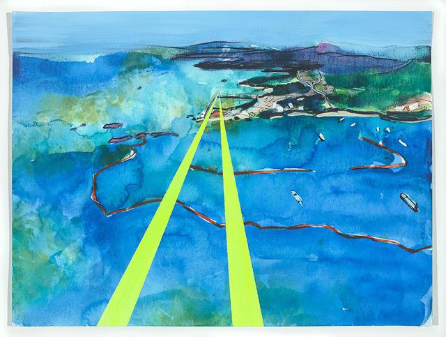 , 'Henoko Flight Path, Oura Bay, Okinawa, Japan (Version 2),' 2019, FLXST Contemporary