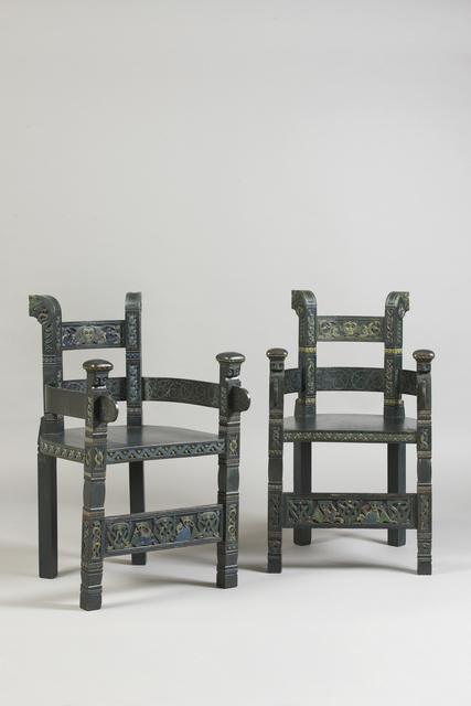 , 'Armchair,' ca. 1905, Franck Laigneau
