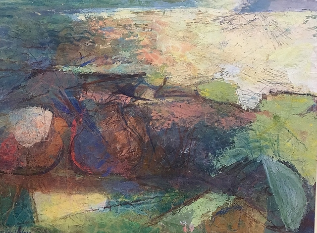 Morris Shulman, 'Monhegan Abstrection', ca. 1958, Lawrence Fine Art