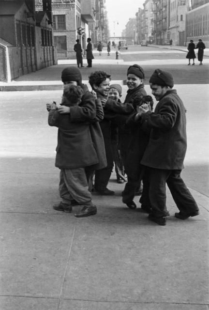 Helen Levitt, 'N.Y.C. (boys dancing)', ca. 1942, Laurence Miller Gallery