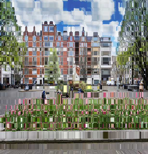 , 'Soho's Golden Square, March 29th 15:34,' 2019, Winston Wächter Fine Art