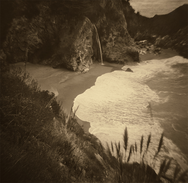 Lara Porzak, 'Big Sur Waterfall', 2017, The Spaceless Gallery