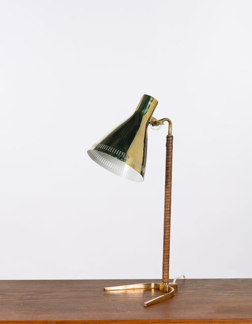 Paavo Tynell, 'Horseshoe Lampe de table modèle 9224', vers 1950, Leclere