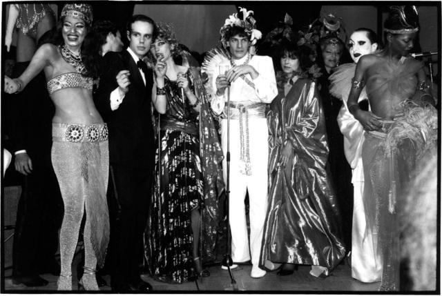 , 'Kiraht Rosier, Frédéric Mitterand, Loulou de la Falaise, and Marie Hélène de Rothschild and friends, Le Palace Nightclub, Paris, France, 1978,' 1978, Gagosian