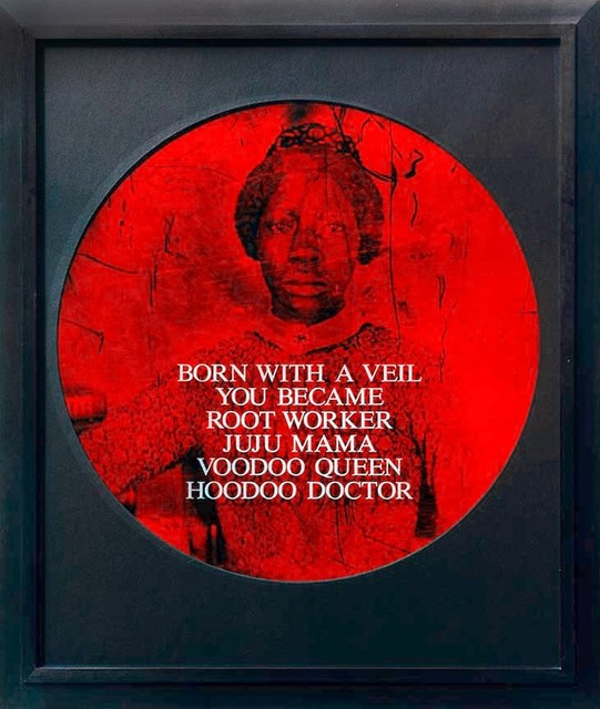 Carrie Mae Weems, 'Born With a Veil You Became Root Worker Juju Mama Voodoo Queen Hoodoo Doctor', 1995-1996, ClampArt