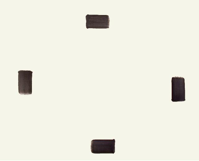 Lee Ufan, 'Correspondence', 1994, Pyo Gallery