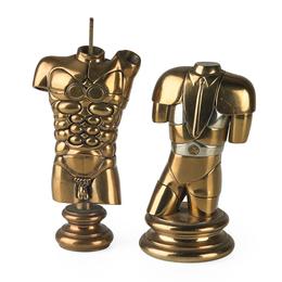 Two Works of Art: Alexandre Bronze, Manolete