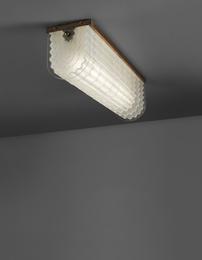 """Rare """"Ondulato"""" ceiling light, model no. 215"""