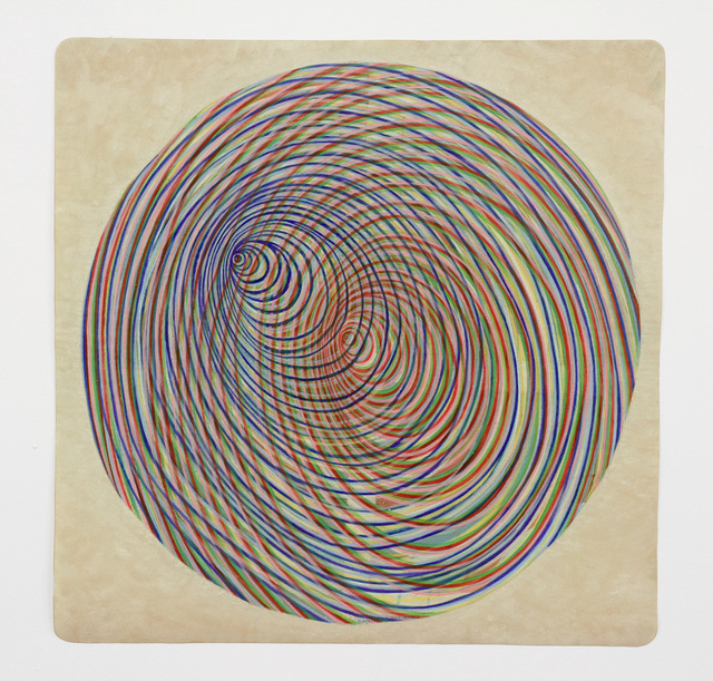Ati Maier, 'Planetary Rings', 2016, Drawing, Collage or other Work on Paper, Ink and woodstain on paper, Pierogi