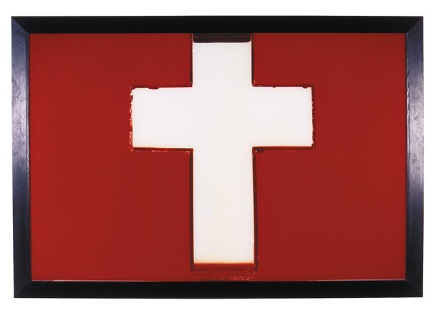 , 'Milk Cross,' 1987, Collezione Maramotti