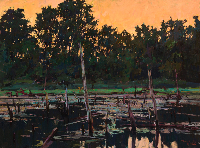 , 'Old Pond,' , Beverly McNeil Gallery