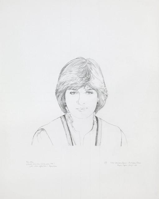 , 'Diana, Princess of Wales,' 1981, Christopher Kingzett Fine Art