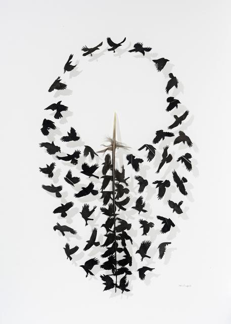 , 'Round and round,' 2018, Muriel Guépin Gallery
