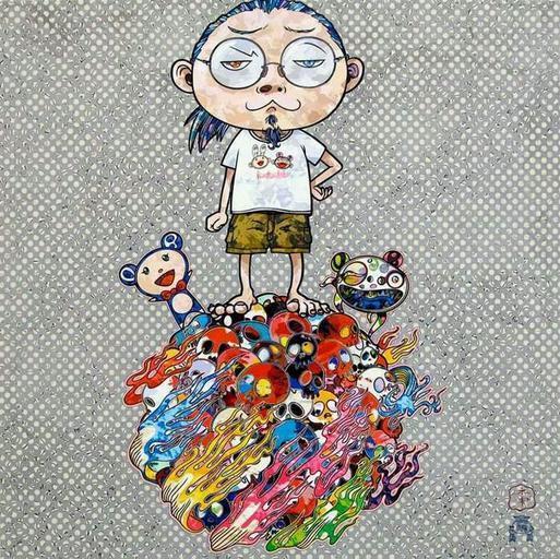 Takashi Murakami, 'Me & the Mr.DOBs 僕と二人のDOB', 2013, Der-Horng Art Gallery