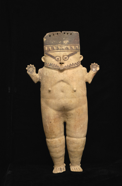 , 'Anthropomorphic Effigy (cuchimilco),' 900 CE-1400 CE, Blanton Museum of Art