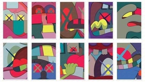 KAWS, 'Ups and Downs Portfolio', 2013, Marcel Katz Art