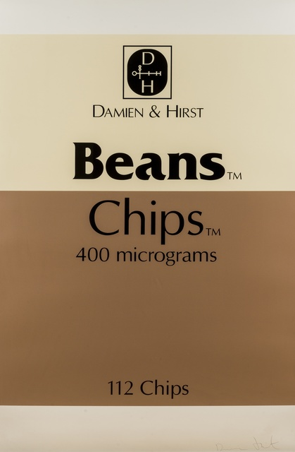 Damien Hirst, 'Beans and Chips (from The Last Supper)', 2005, Print, Screenprint in colours, Forum Auctions