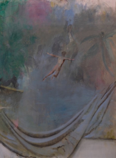 , 'The Plunge,' 2017, Federico Luger (FL GALLERY)