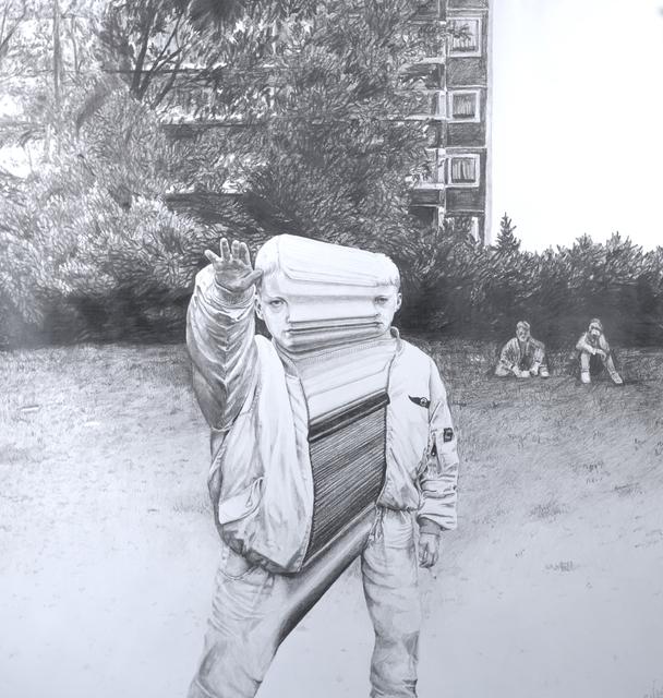 Lars Wunderlich, '1992', 2017, Urban Spree Galerie