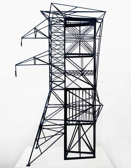 , 'Abstract Model Series #9 (Assymmetric tower with interior laced latticing),' 2016, OTA Contemporary