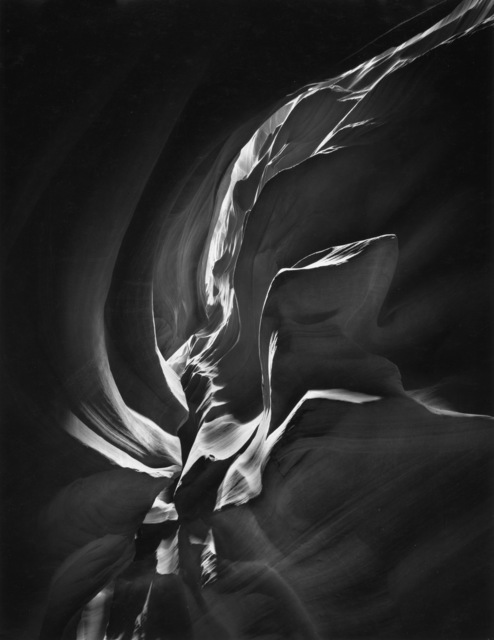 , 'Layers, Antelope Canyon,' 1998, Photography West Gallery