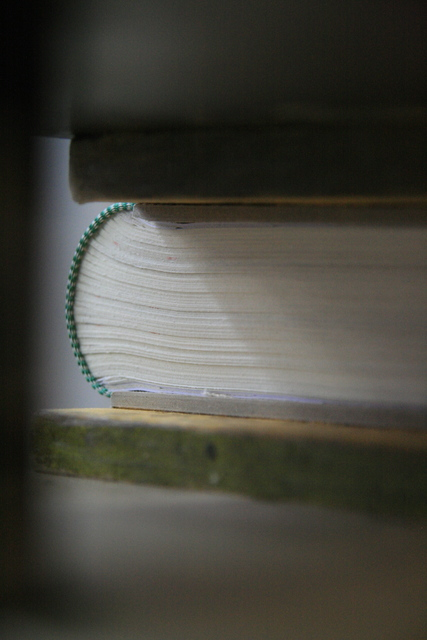 , 'Book (detail),' 2015, Francesca Minini