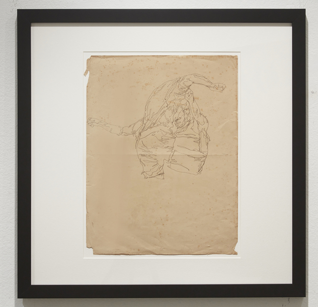 , 'Life Wants to Live (Study 15),' 2014, Jonathan LeVine Projects