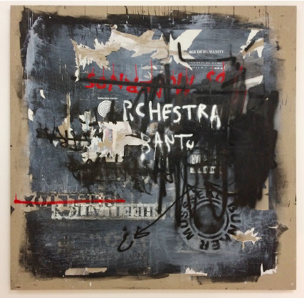 Yonamine, 'Sheetuation Town IX', 2018, Painting, Mixed media on canvas, Cristina Guerra Contemporary Art