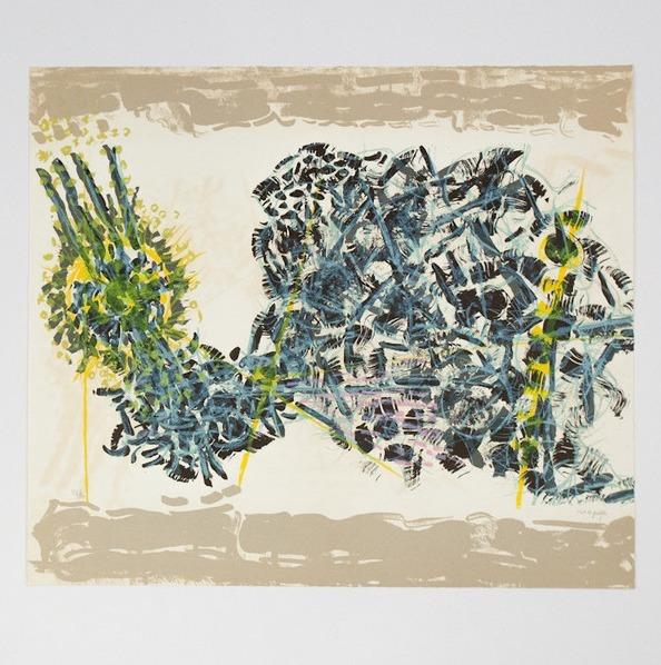 Jean-Paul Riopelle, 'Le Sablier 1', 1979, Print, Lithograph, Caviar20