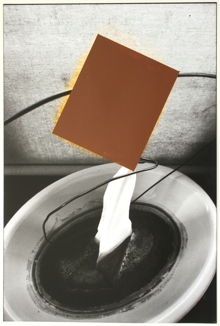 , 'Capillary Action with Brown Rectangle,' 1994, Anglim Gilbert Gallery