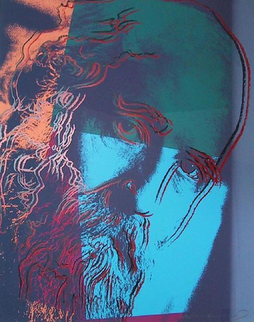 Andy Warhol, 'Martin Buber', 1980, Kunzt Gallery