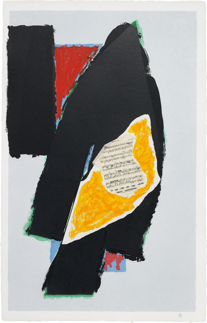 Robert Motherwell, 'Black for Mozart', 1991, Evelyn Aimis Fine Art