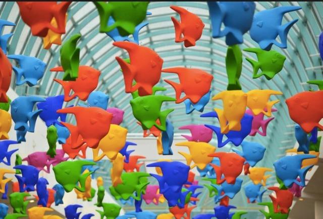 Cracking Art Group, 'Fish ', Galleria Ca' d'Oro