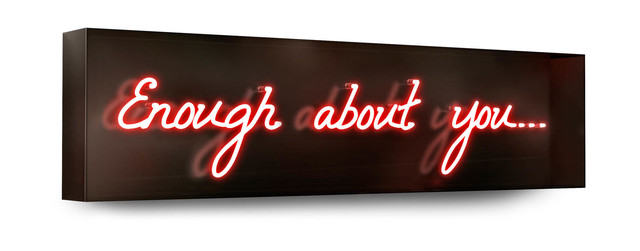David Drebin, 'Enough About You', 2013, Isabella Garrucho Fine Art