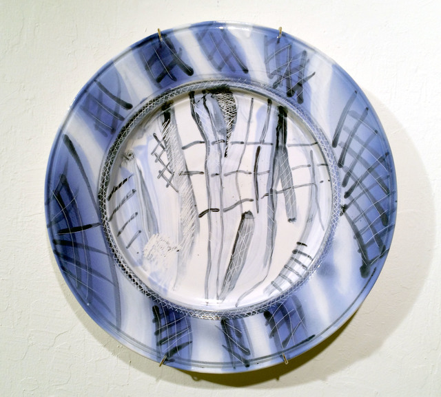 , 'Blue Willow 2.0 (A Collaborative Plate with Gary Steinborn),' 2015, JAYJAY