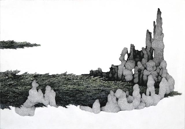 , 'Un lac somnolent,' 2014, Galerie Maria Lund